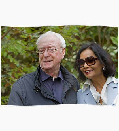 Sir Michael Caine at the RHS Chelsea Flower show 2012 Poster