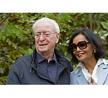 Sir Michael Caine at the RHS Chelsea Flower show 2012 Photographic Print