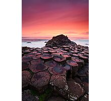 Bloody Causeway Photographic Print