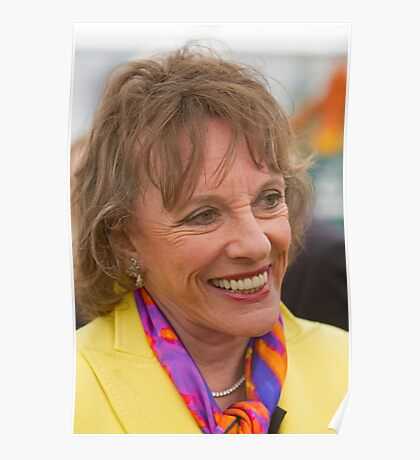 Esther Rantzen at the RHS Chelsea flower show 2012 Poster