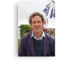 Monty Don at the RHS Hampton Court Palace flower show 2012 Canvas Print
