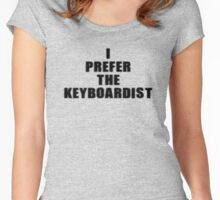 Keyboard - I Prefer The Keyboardist T-Shirt Women's Fitted Scoop T-Shirt