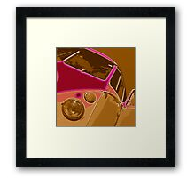 VW Split Screen Camper Framed Print