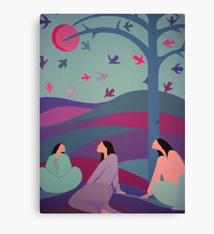 Spiritual World Canvas Print