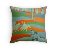 Spirit Guide/Old Ones Watching Throw Pillow