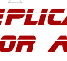 Are you a Replican or a Replicant? Sticker