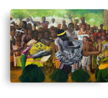 Togo Dancers Canvas Print