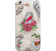 Barber Flash  iPhone Case/Skin