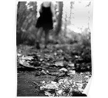 To Wander - Black and White Print Poster