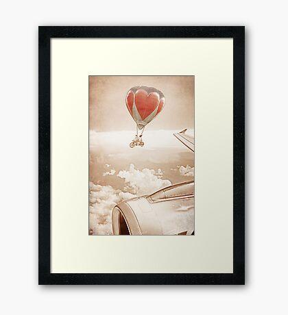 Wednesday Dream - Chasing Planes Framed Print