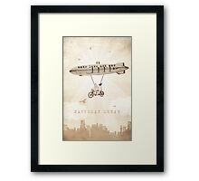 Saturday Dream - Love and Peace Flight Framed Print