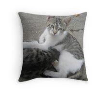 Martinove mace Throw Pillow