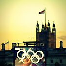 Westminster & Olympic Rings by Victoria limerick