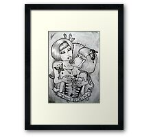 beauty and decay Framed Print