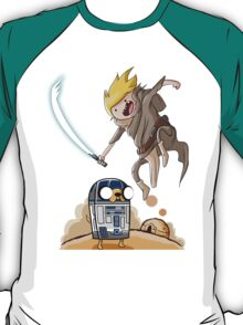 FINN SKYWALKER AND JAKE2D2. T-Shirt