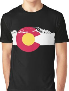 Colorado mountains Graphic T-Shirt