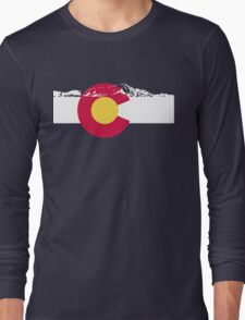 Colorado mountains Long Sleeve T-Shirt