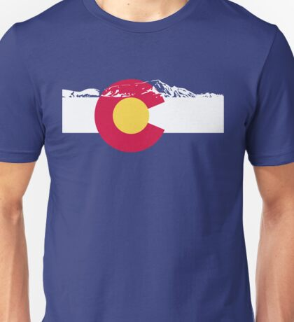 Colorado mountains Unisex T-Shirt