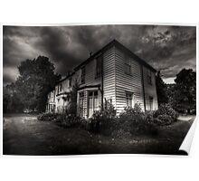 Morden hall Cottages Poster