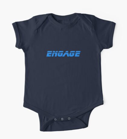 Engage - Dock The Space Shuttle T-Shirt One Piece - Short Sleeve
