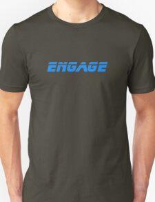 Star Trek - Engage - Captain Picard T-Shirt T-Shirt