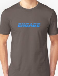 Star Trek - Engage - Captain Picard T-Shirt T-Shirt