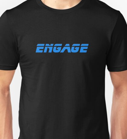 Engage - Dock The Space Shuttle T-Shirt Unisex T-Shirt