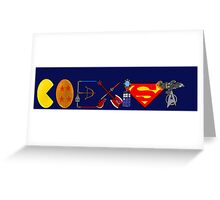 Coexist 2.0 Greeting Card