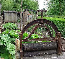 Miner's garden, Museum of Welsh Life, St Fagans by Ross Sharp