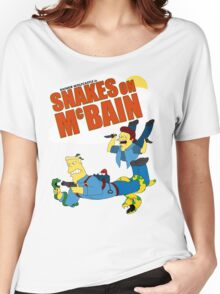 Snakes on McBAIN Women's Relaxed Fit T-Shirt