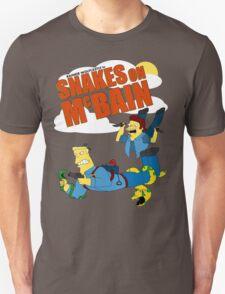 Snakes on McBAIN Unisex T-Shirt