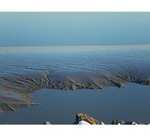 Mud flats Photographic Print