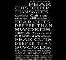 Fear Cuts Deeper Than Swords by TapThatKeyboard