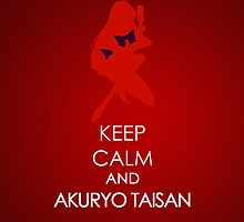 Keep Calm - Sailor Mars Iphone 2 by SimplySM