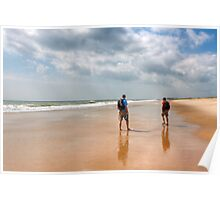No Particular Place To Be - Beach in the Hamptons Poster