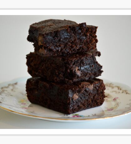 Chocolate Brownies  Sticker