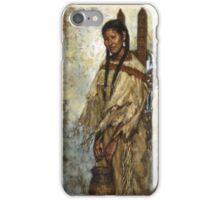 Kiowa Cradleboard, Kiowa, Native American Art, James Ayers Studios iPhone Case/Skin