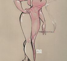 Jessica Rabbit by squid1nk