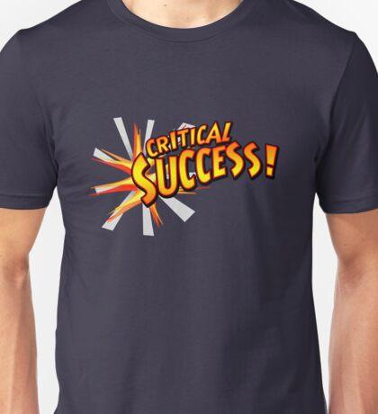 Critical Success Unisex T-Shirt