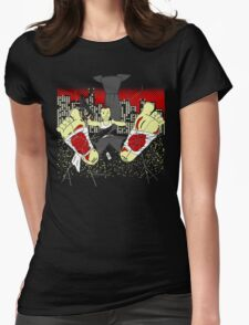 Yippe Tie Yay Womens Fitted T-Shirt