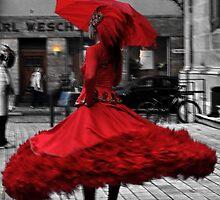 Swirling in Red by wigs