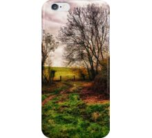 Muddy Country Path HDR iPhone Case/Skin