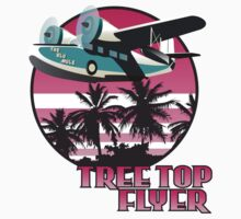Tree Top Flyer Pink by Steve G