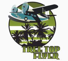 Tree Top Flyer Green by Steve G