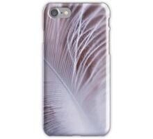 White Feather macro iPhone Case/Skin