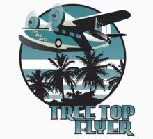 Tree Top Flyer Blue by Steve G
