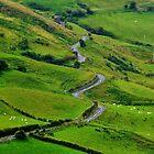 Meandering Costal Road Antrim by Sean McAughey
