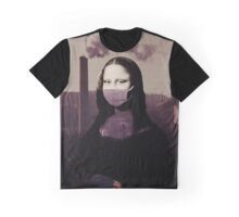 Polluted Mona Lisa  Graphic T-Shirt