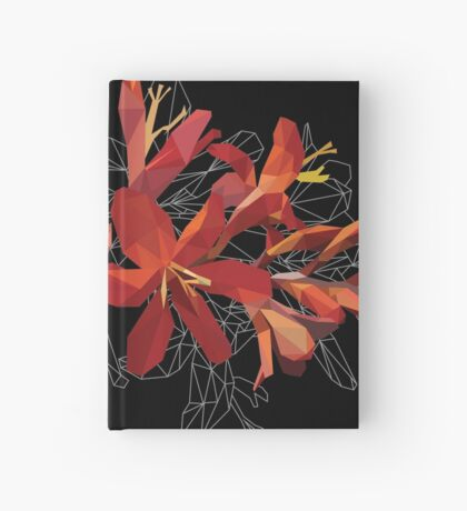 Blooming Poly Crocosmia Hardcover Journal