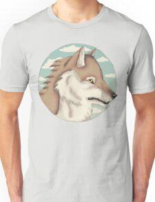 Blue Sky Wolf Unisex T-Shirt